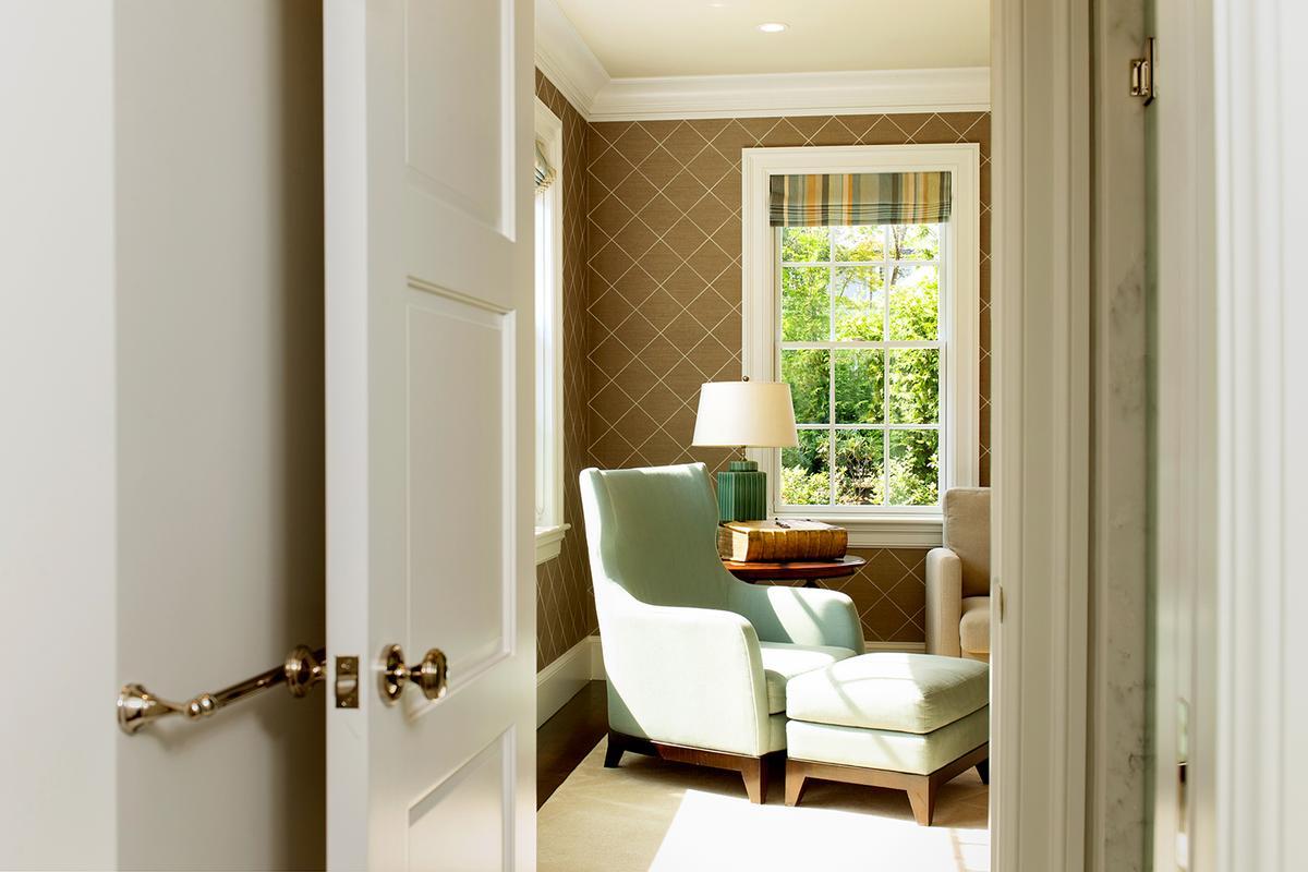 Custom designed in Chestnut Hill luxury real estate