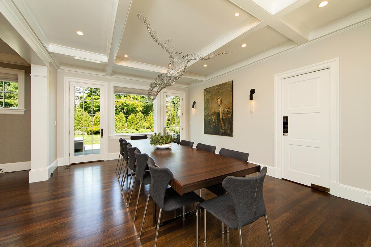 Custom designed in Chestnut Hill luxury homes
