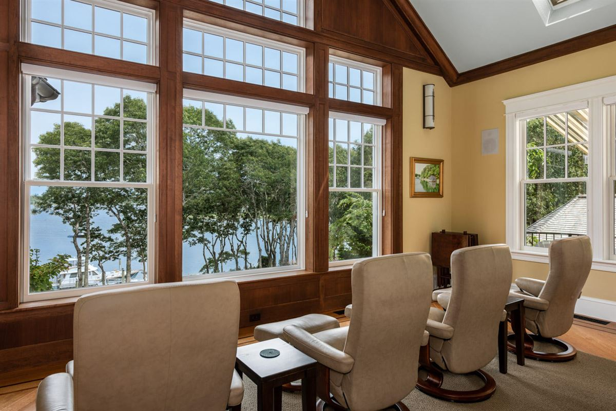 gated waterfront home with glorious bay views luxury properties
