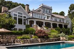 gated waterfront home with glorious bay views mansions