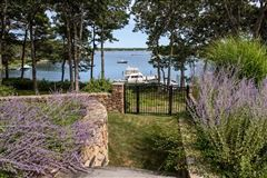 Mansions in gated waterfront home with glorious bay views
