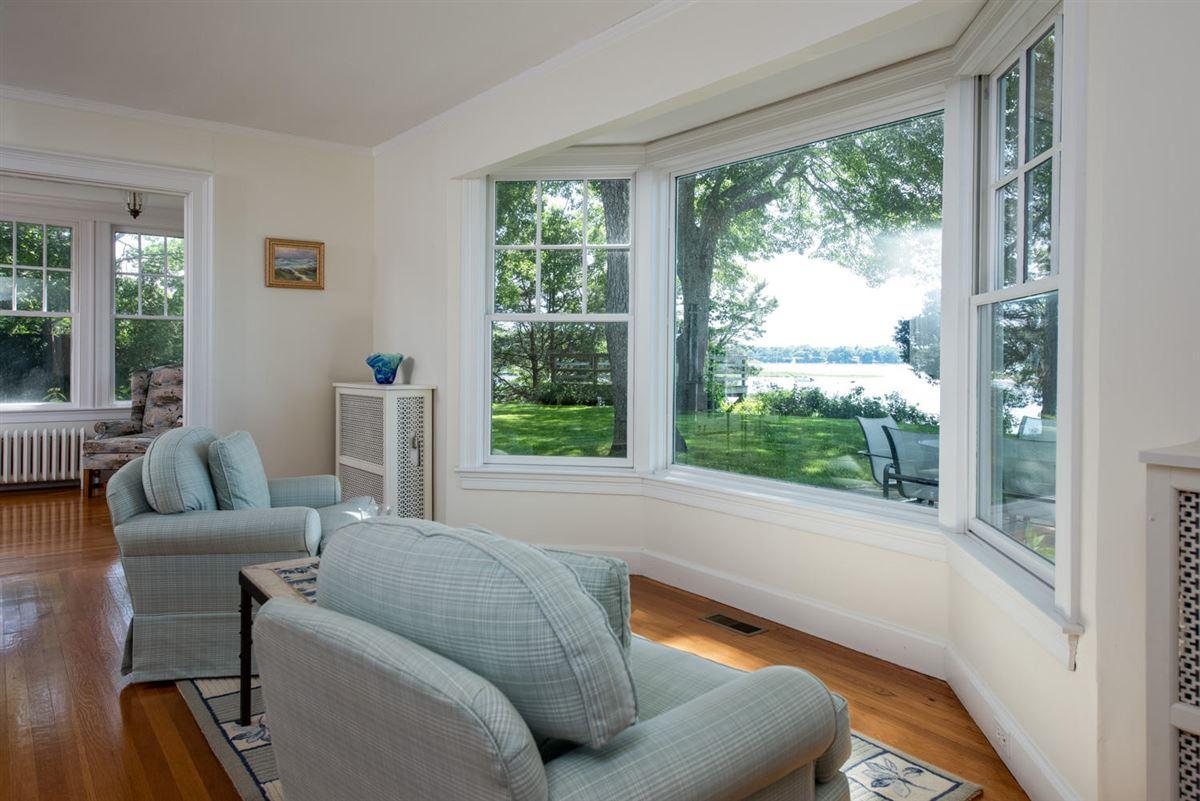 gracious Cotuit Bay waterfront estate luxury real estate