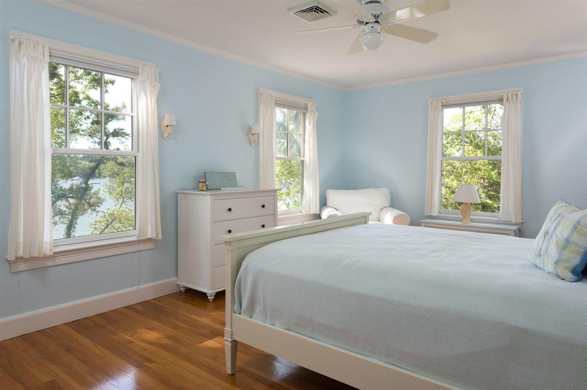 gracious Cotuit Bay waterfront estate mansions