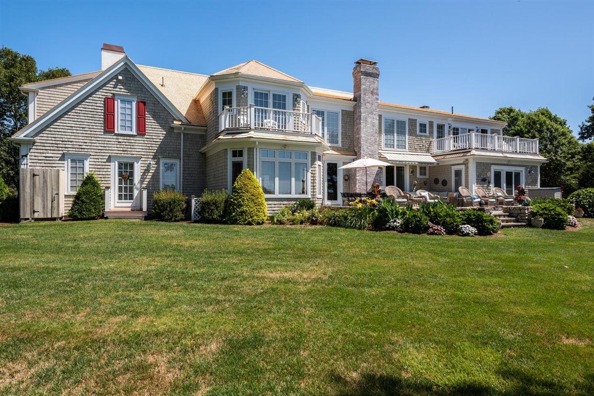 Luxury real estate spacious estate overlooking West Bay