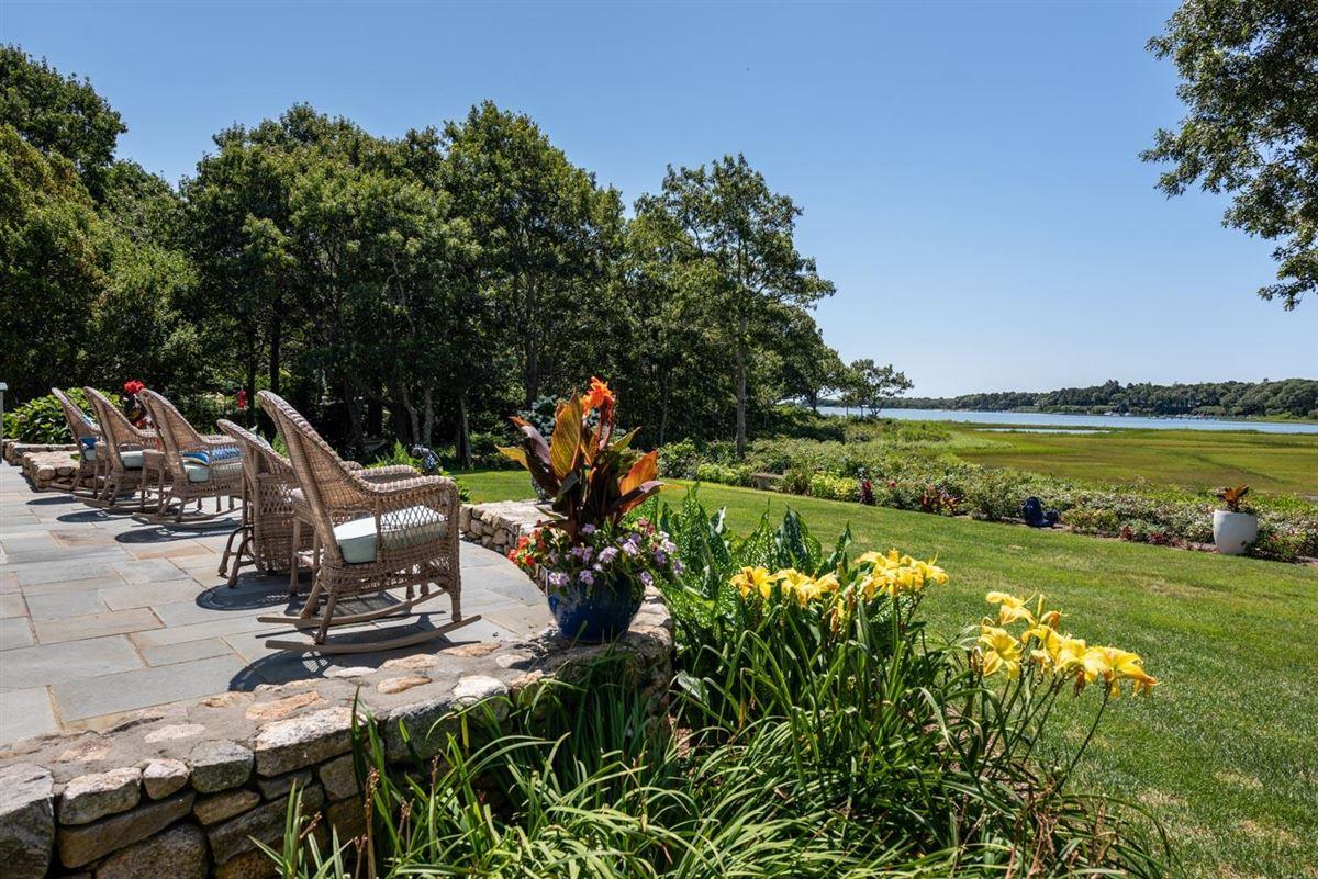 spacious estate overlooking West Bay luxury real estate