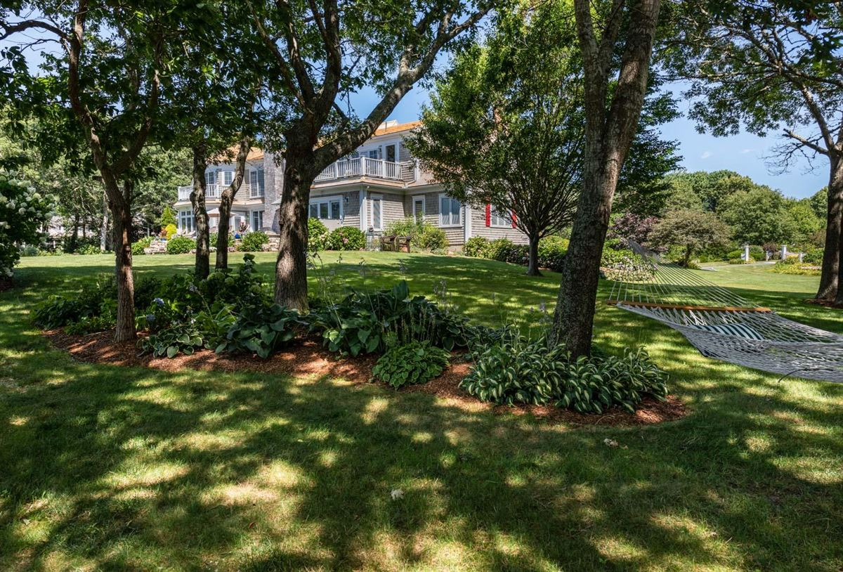 spacious estate overlooking West Bay luxury properties