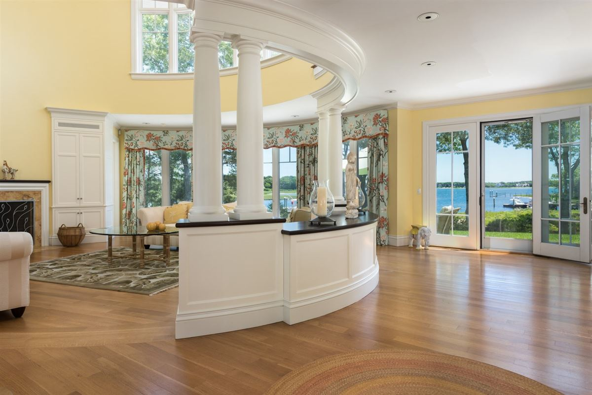 Exceptional waterfront estate in oyster harbors luxury properties