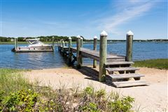 Exceptional waterfront estate in oyster harbors mansions