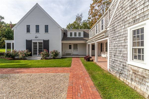 a wonderful blend of history, sophistication and coastal styling in massachusetts luxury real estate