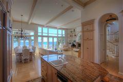 Mansions in elegant beachfront property