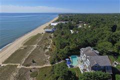 Luxury real estate elegant beachfront property