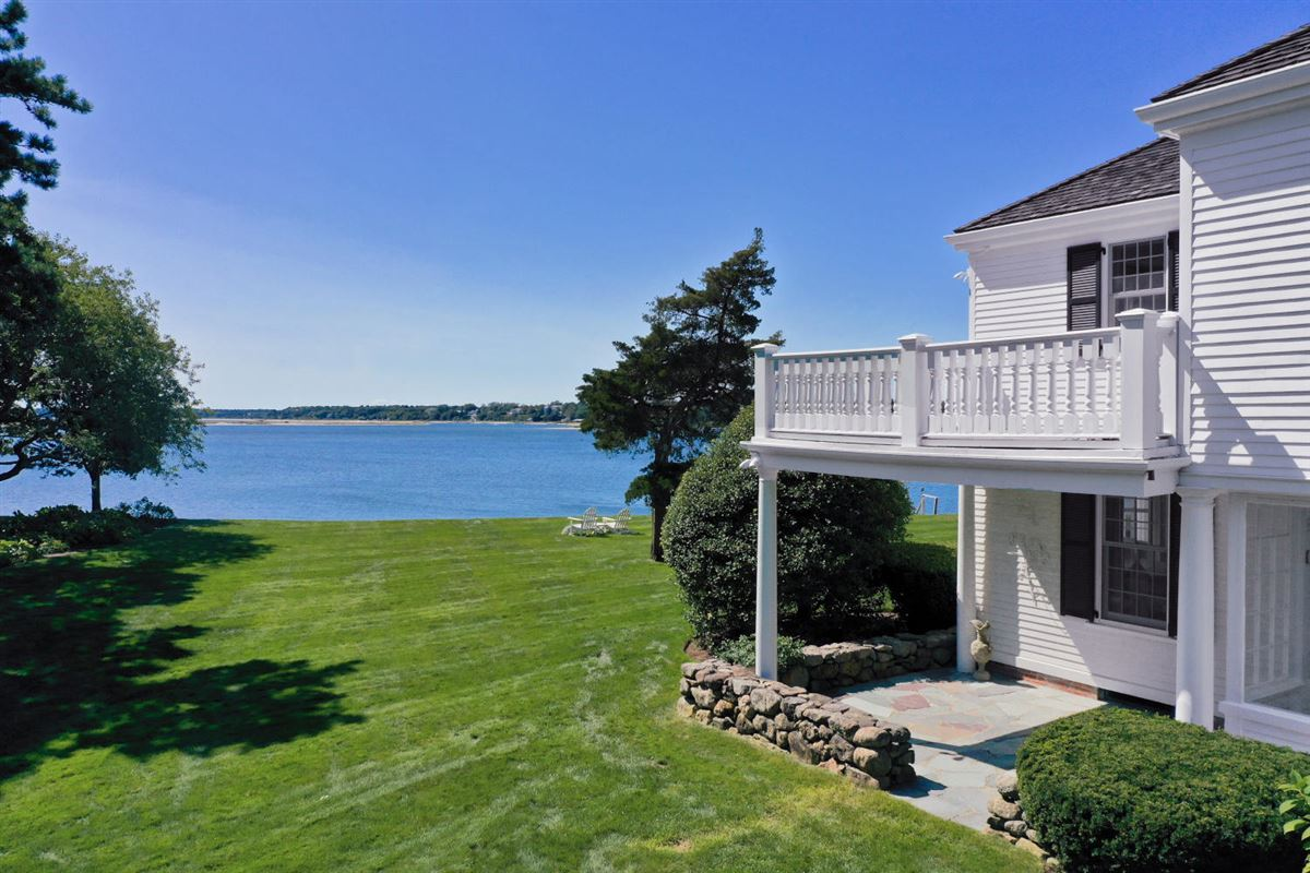 Faraway in oyster harbors luxury homes