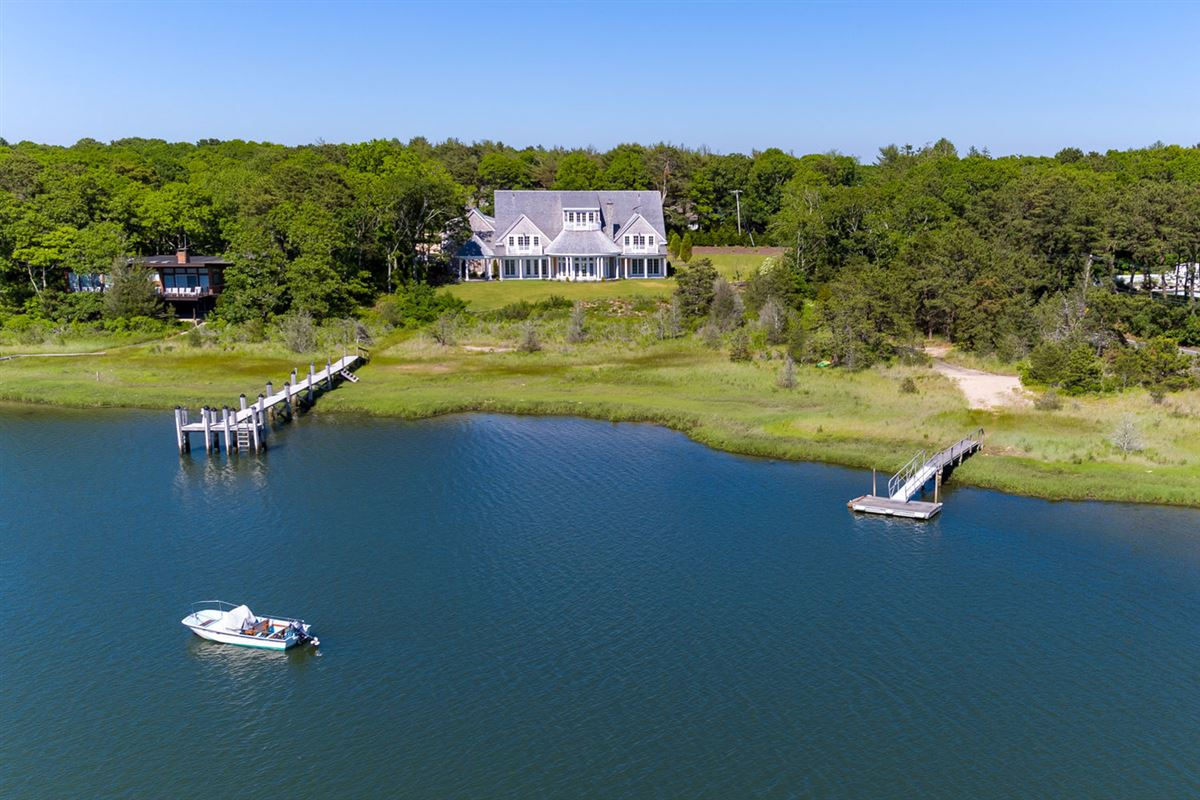 Luxury properties custom designed waterfront home with expansive views