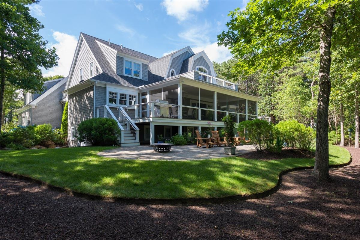 Masterfully planned waterfront estate in mashpee luxury homes