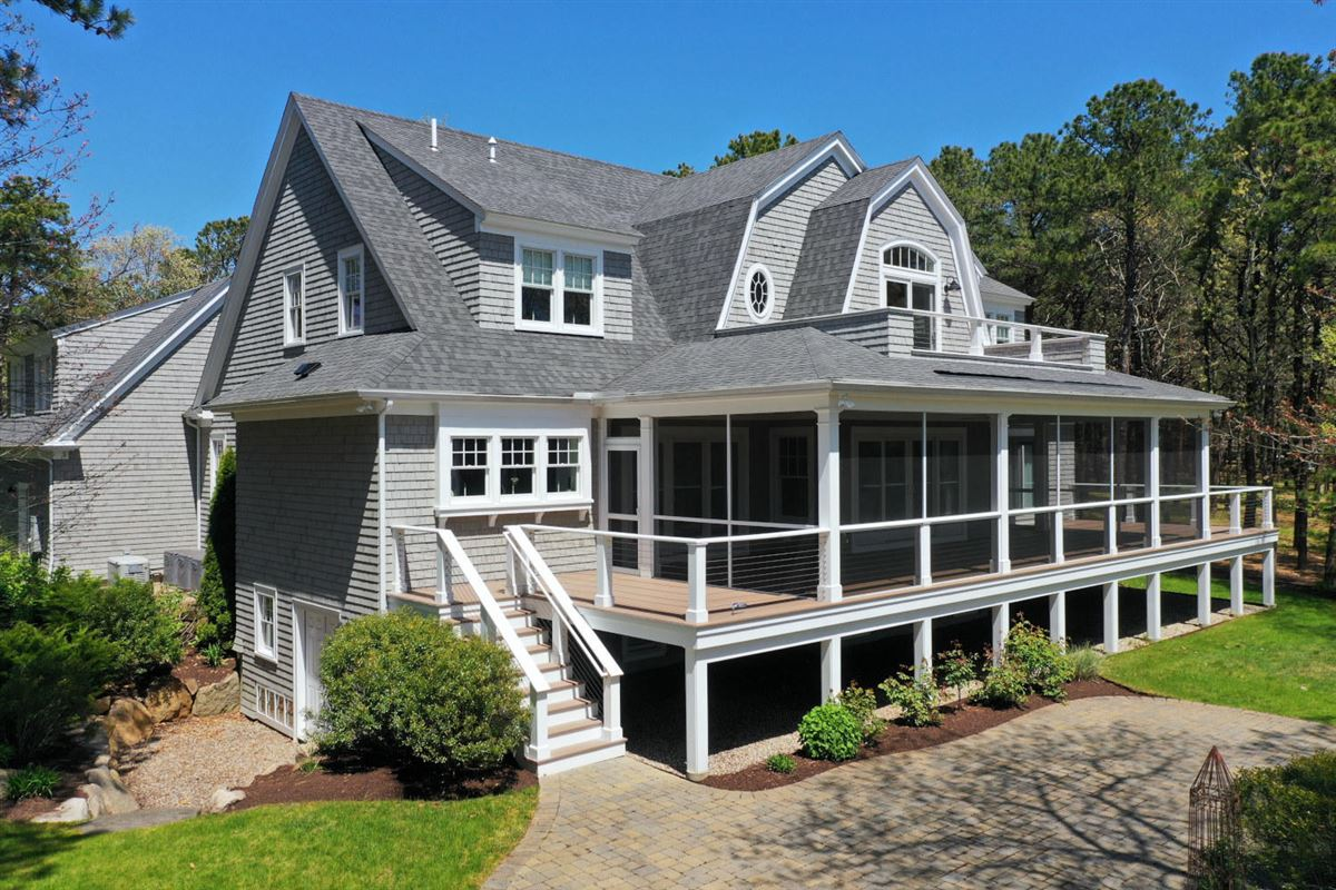 Luxury real estate Masterfully planned waterfront estate in mashpee