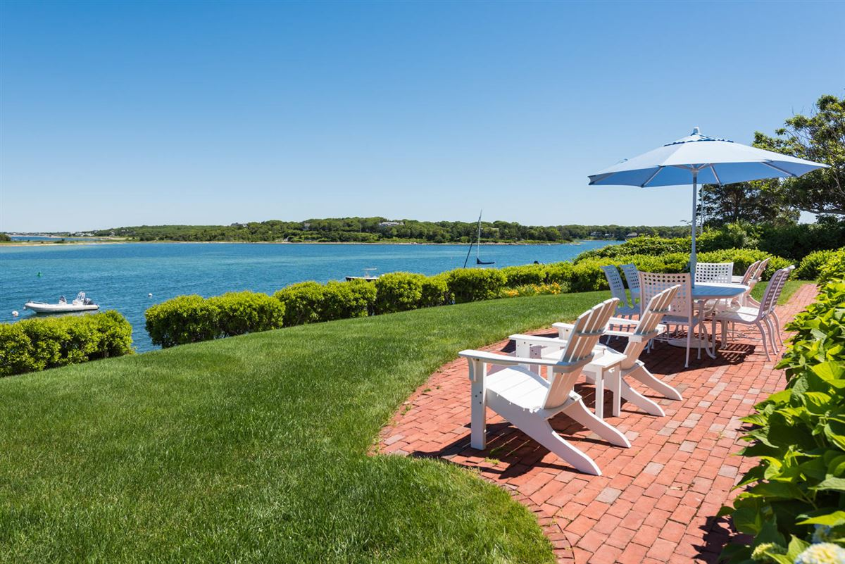 Luxury homes exceptional home on remarkable Chapoquoit Island
