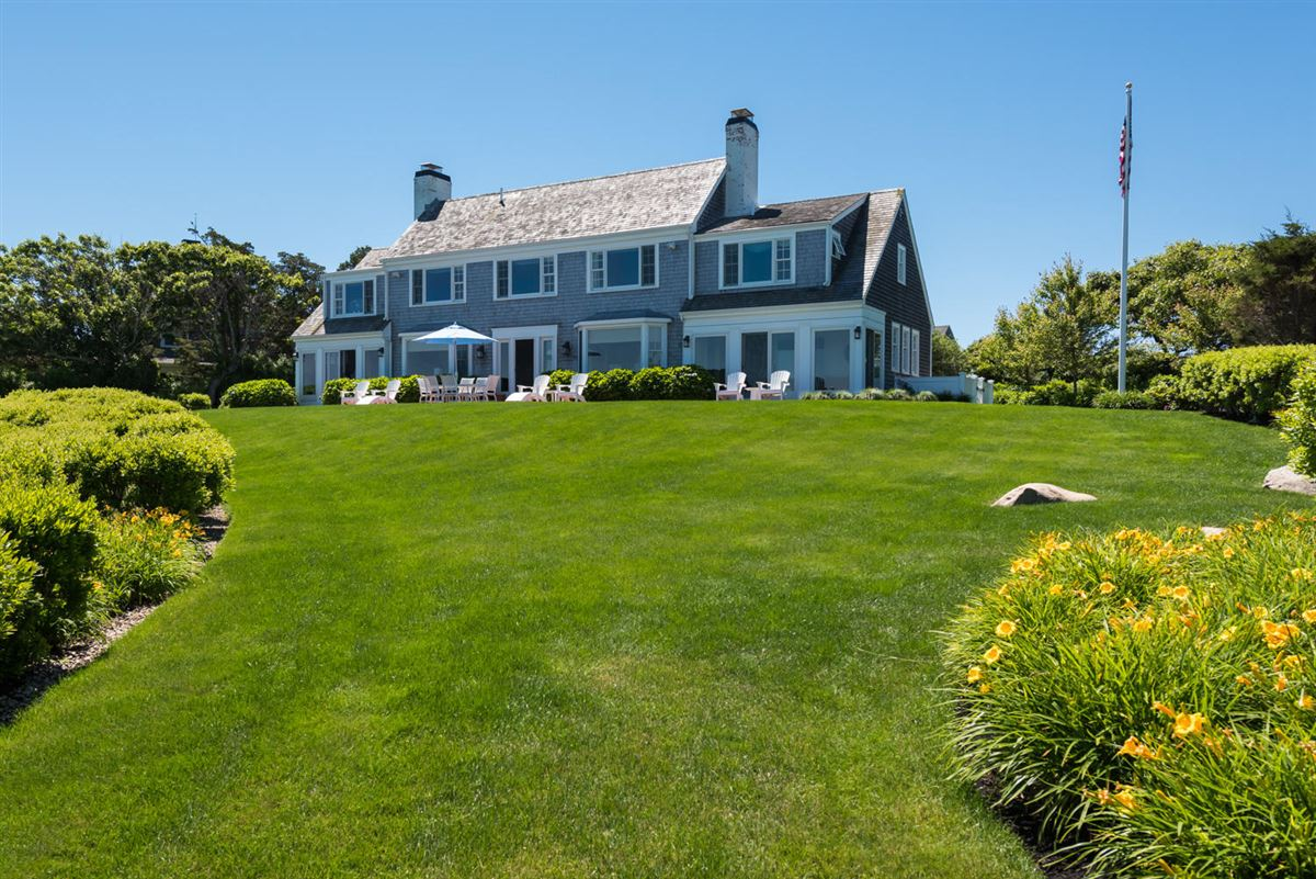 Luxury real estate exceptional home on remarkable Chapoquoit Island
