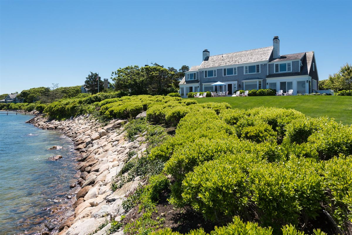exceptional home on remarkable Chapoquoit Island  luxury real estate