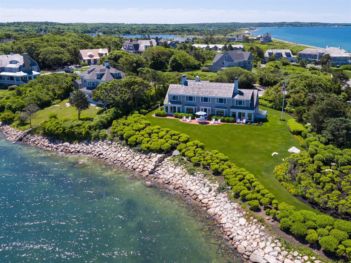 Luxury homes in exceptional home on remarkable Chapoquoit Island