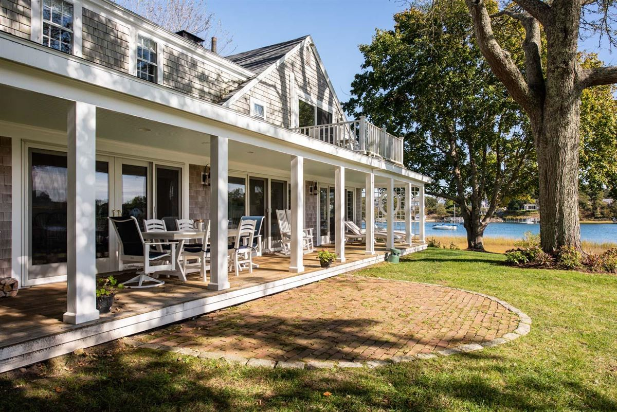 Luxury homes Historic Bass River compound