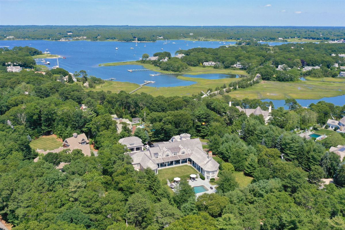 magnificent residence in Oyster Harbors luxury properties