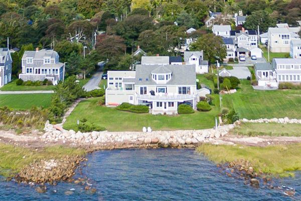 a tastefully renovated waterfront home luxury homes
