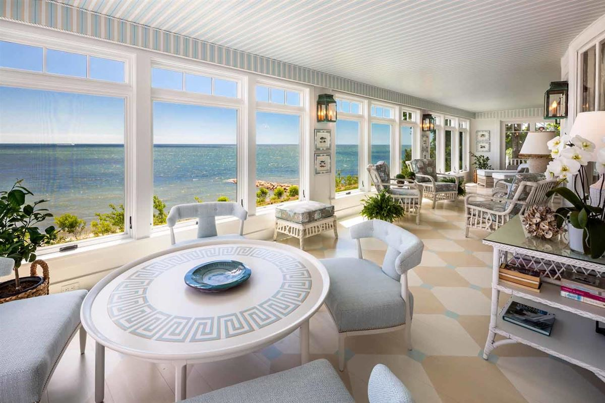 Luxury homes in Sea Goddess overlooking nantucket sound