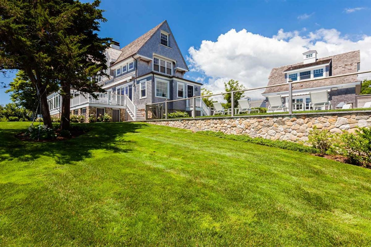 Sea Goddess overlooking nantucket sound luxury real estate