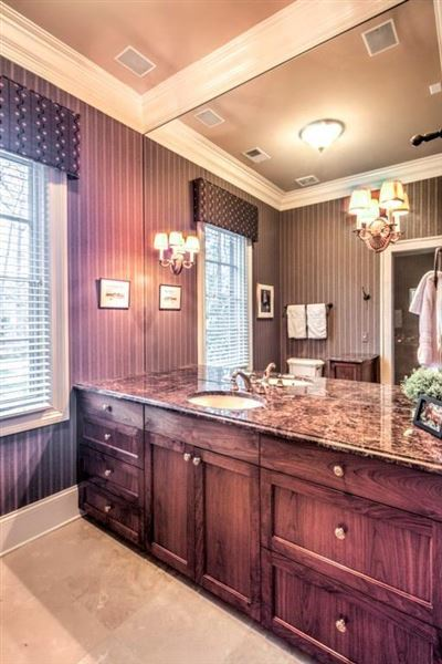 Luxury homes beautifully renovated Buckhead transitional home