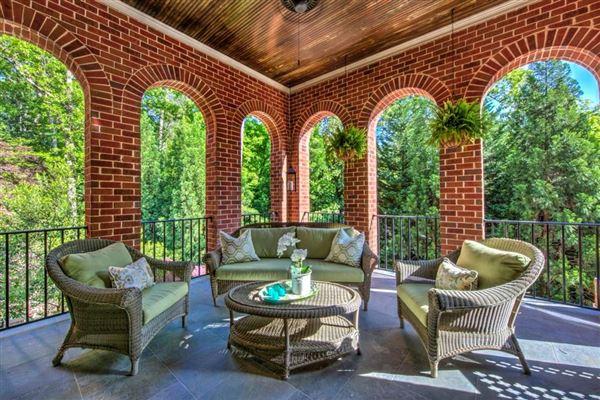 Regency-style estate in atlanta luxury homes