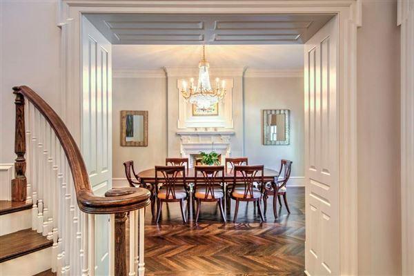 Regency-style estate in atlanta luxury real estate