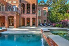 Mansions in Regency-style estate in atlanta