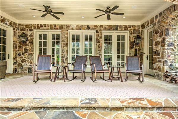 Luxury real estate elegant home on gorgeous property