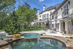 gorgeous private gated estate mansions