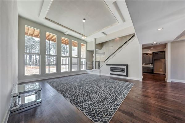 Luxury real estate Contemporary gem in the heart of Stone Mountain