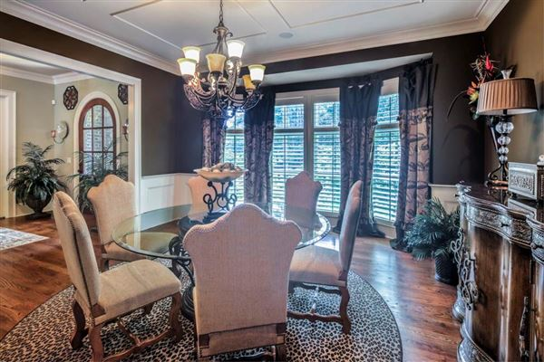 Luxury properties Custom gated all brick estate