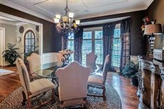 Luxury real estate Custom gated all brick estate