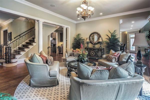 Luxury homes Custom gated all brick estate