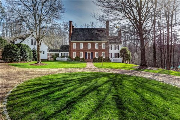 SUNSETS OVER THE POND | Georgia Luxury Homes | Mansions For