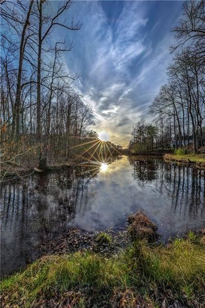 SUNSETS OVER THE POND | Georgia Luxury Homes