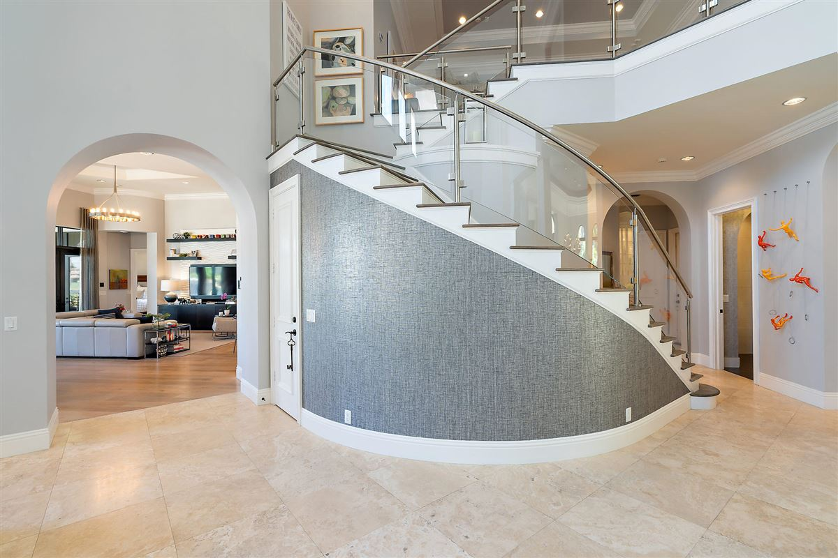 Luxury homes recently renovated lakefront home