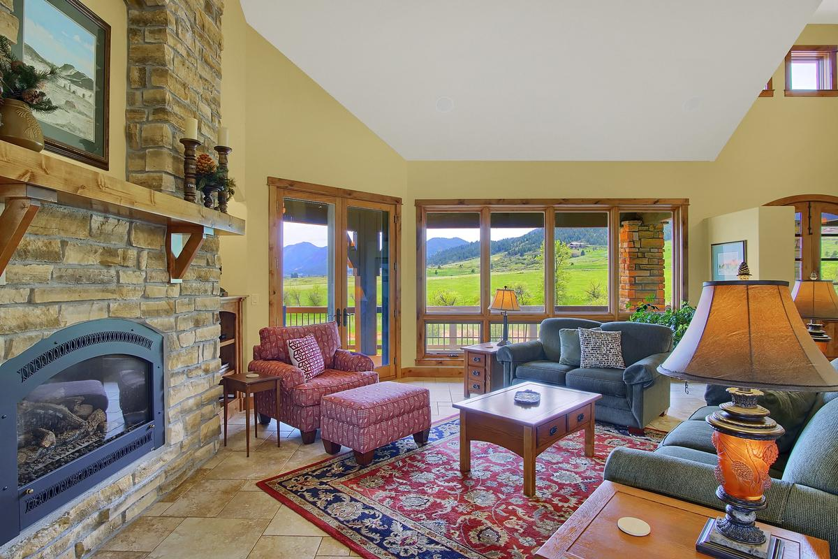 Luxury real estate Award Winning Mountain Design on 40 Acres