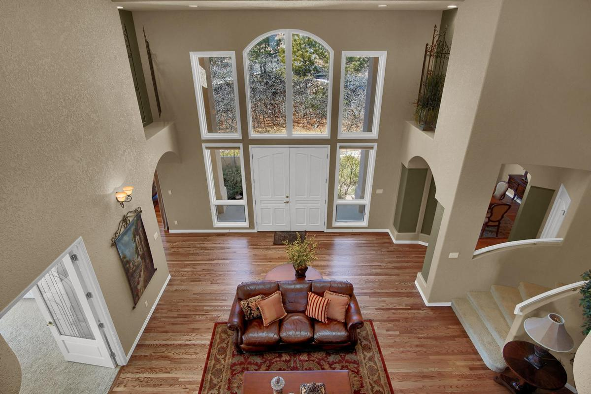 Luxury real estate SPECTACULAR TWO STORY WITH TOP OF THE WORLD VIEWS