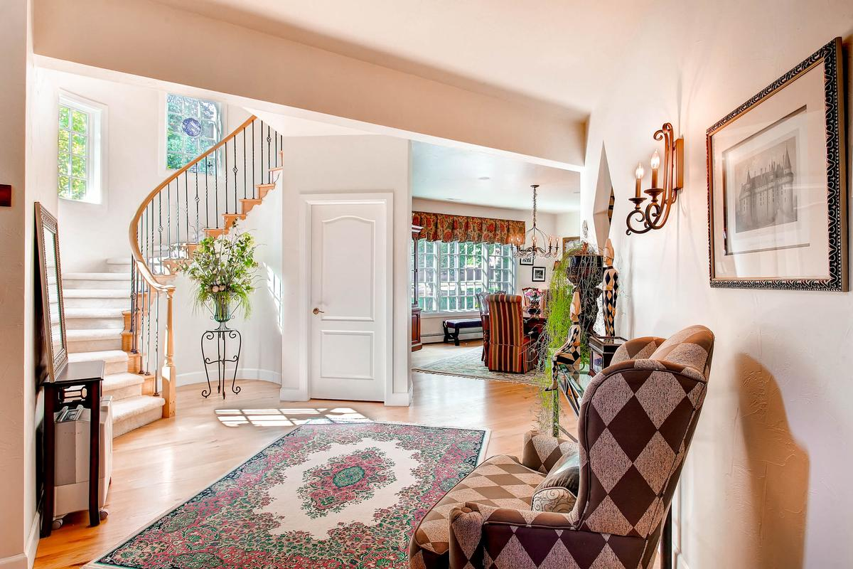 Luxury homes Private Broadmoor Estate on Prime Lot