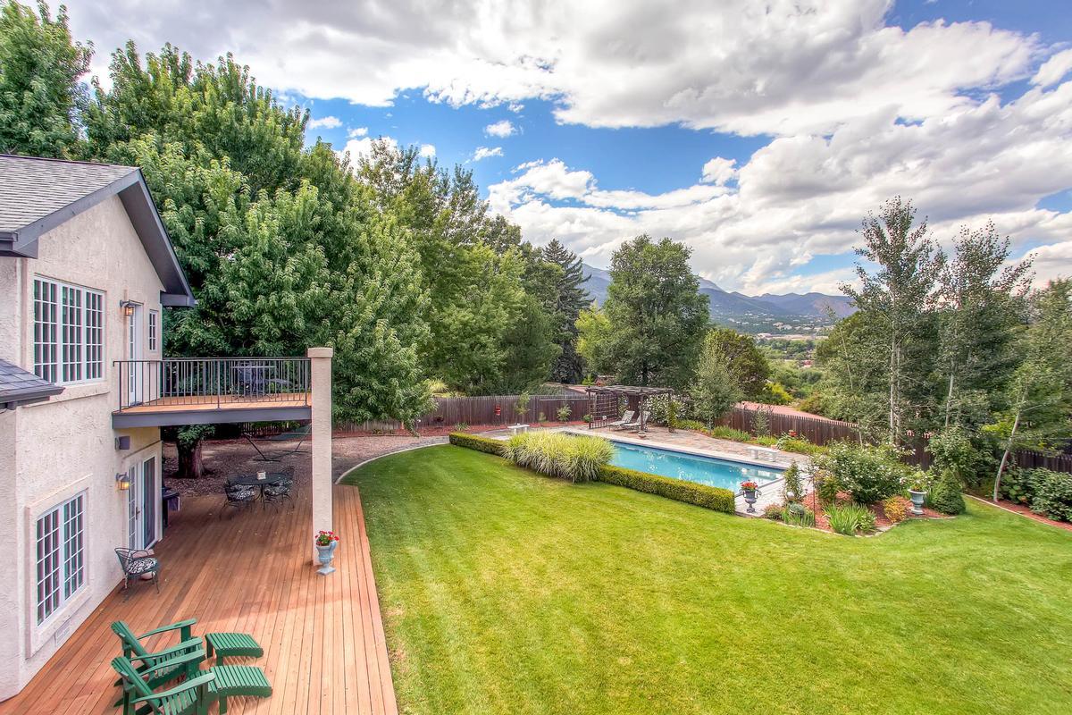 Private Broadmoor Estate on Prime Lot luxury real estate