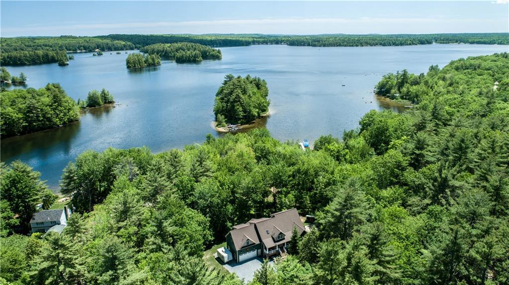 Private Waterfront on Little Sebago Lake luxury homes