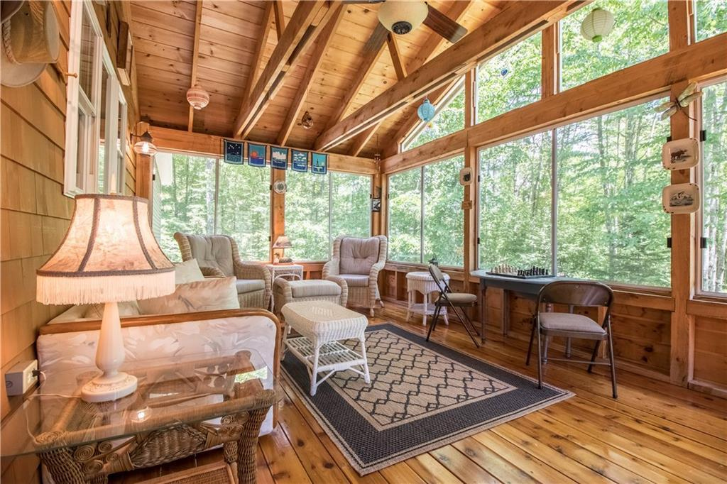 Luxury homes Private Waterfront on Little Sebago Lake