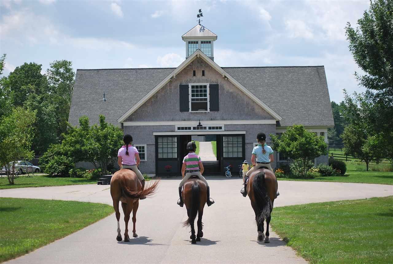 Premier Equestrian Facility New Hampshire Luxury Homes