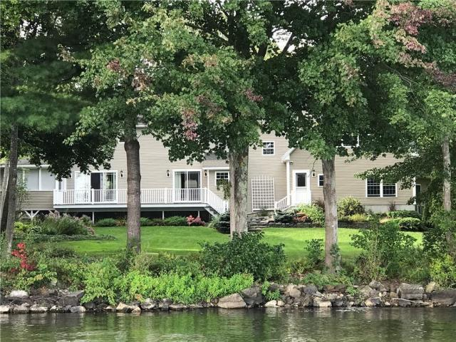 Luxury homes in Cobbossee Lake home on historic Island Park