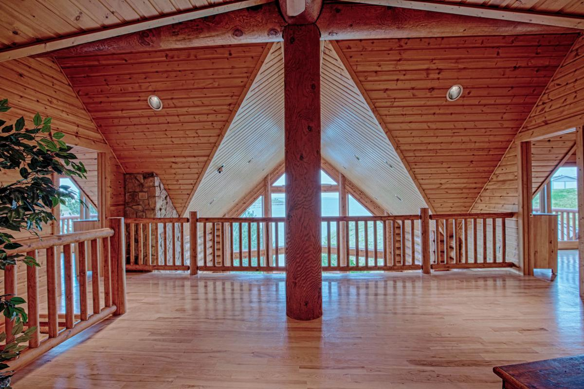 Luxury Log Home at Lake McConaughy luxury properties